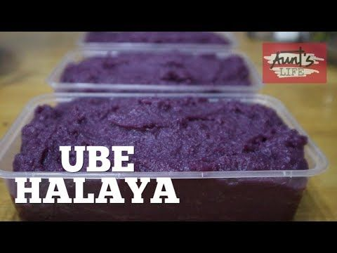 How To Make Ube Halaya Creamy Ube Halaya Purple Yam Jam Youtube Ube Halaya Recipe Halaya Recipe Ube Recipes