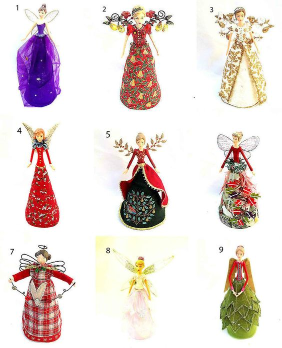 Angel christmas tree topper trees and fairies on pinterest for Angel christmas tree decoration