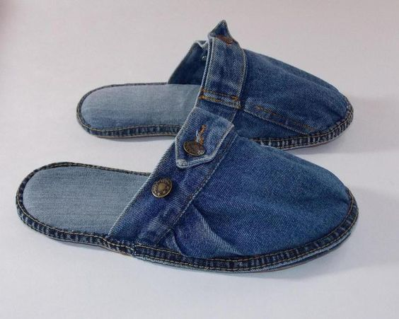 Jeans and Recycling on Pinterest