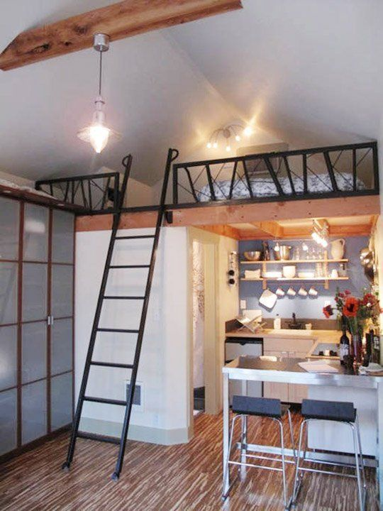 9 times garage makeovers became the most adorable homes for Garage studio apartment ideas