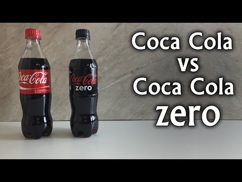 La Vera Differenza tra la Coca Cola normale e la Coca Cola Zero in questo Video. Coca Cola Vs Coca Cola Zero