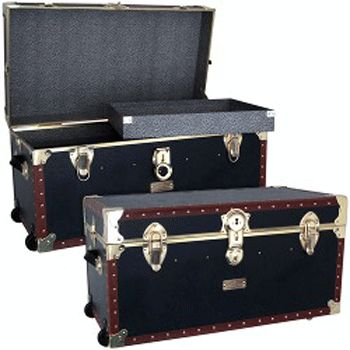 """The 1878 31"""" Oversize Locker with Wheels & Tray- Vermont's Barre Army Navy Store"""