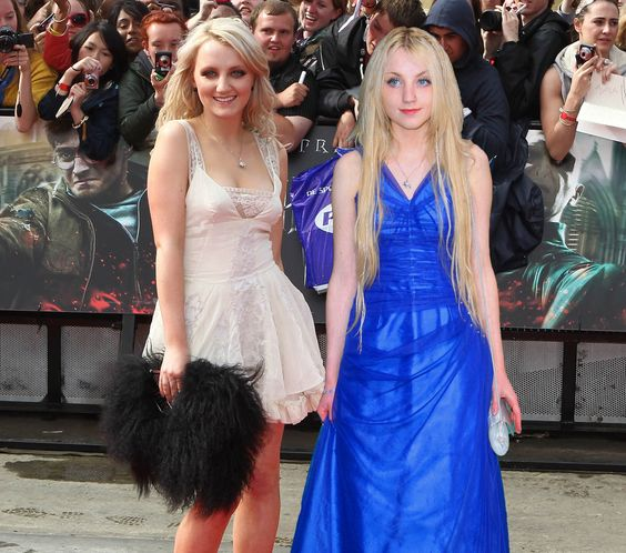 """Luna Lovegood Then And Now The """"Harry Potter..."""