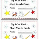 This is set #2 of Read the Room On A Ring! Cards. Included are 12 cards and a cute cover. All about short vowels!  Just copy, cut, hole punch and ring and you are ready to go with an easy to store center that can also be used for early finishers, mini-literacy lessons, and partner activities as well as centers.