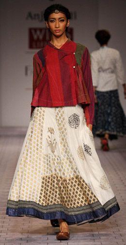Anju Modi casual wear- Indian South Asian desi fashion http://www.pinterest.com/wywoodandwovens/international-fashion/