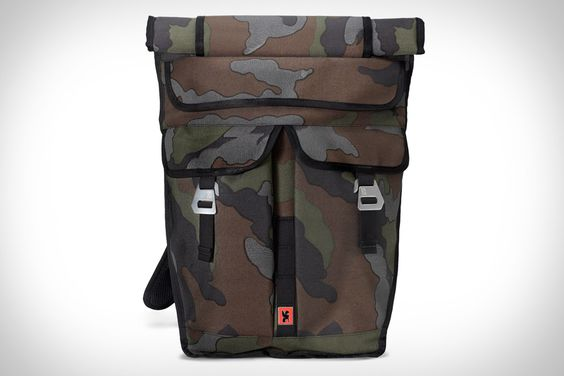 Chrome Reflective Camo Bags