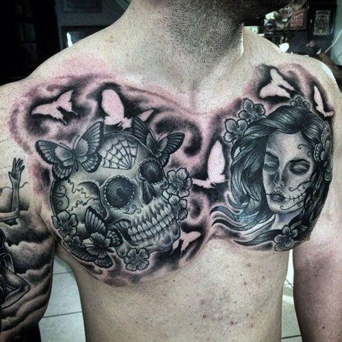 101 Best Skull Tattoos For Men Cool Designs Ideas 2019 Guide Skull Tattoo Tattoos For Guys Skull Tattoos