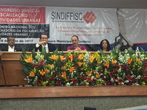 18/05/2017, II Encontro, mesa inaugural com Ronaldo Freire Andrade, Carlos Antunes Jr, Ricardo Manzi e Isabel Santos