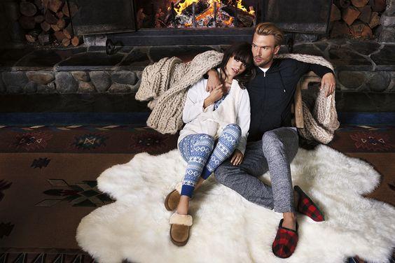 An trüben Wintertagen sind gemütliche Hausschuhe zum Einkuscheln unverzichtbar. Wer dachte, dass Hausschuhe nicht stylisch aussehen können, hat sich getäuscht