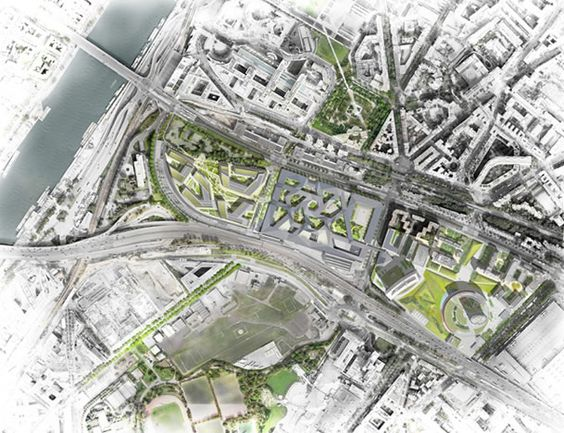 17 best images about archi graphique for Plan masse architecture