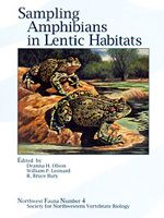 Sampling Amphibians in Lentic Habitats Deanna H. Olson, William P. Leonard, R. Bruce Bury (Editors) Society for Northwestern Vertebrate Biology, 1ª edição, 1997	 Tipo: Brochura  Número de páginas: 134  Methods and Approaches for the Pacific Northwest (Northwest Fauna 4).
