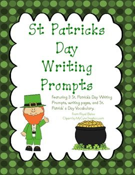 Graphic organizers, Writing prompts and St patrick on ...