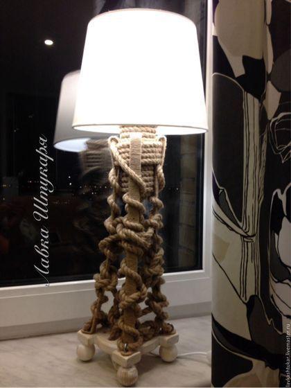 """Освещение ручной работы. Ярмарка Мастеров - ручная работа. Купить Настольный светильник """"Маяк"""". Lamp.Морской стиль. Nautical.. Handmade."""