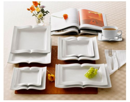 These are the best plates I've ever seen in my life. They're books!!! I need them.