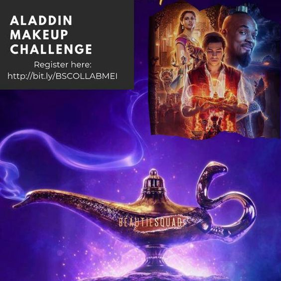 Beautiesquad Makeup Collaboration - Aladdin Makeup Challenge