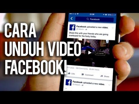 Cara Download Video Facebook Dengan Mudah Trik Android