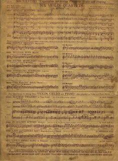 vintage sheet music, 4 pages at link.,,,Nuestras MiniaturaS - ImprimibleS: Partitura