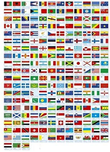 New Made In The Usa 193 Flag United Nations World Flag Set 193 Rayon 4 X6 Flags One Flag For Each Country In The Un 4x6 Miniatu Bandeiras Do Mundo Bandeiras
