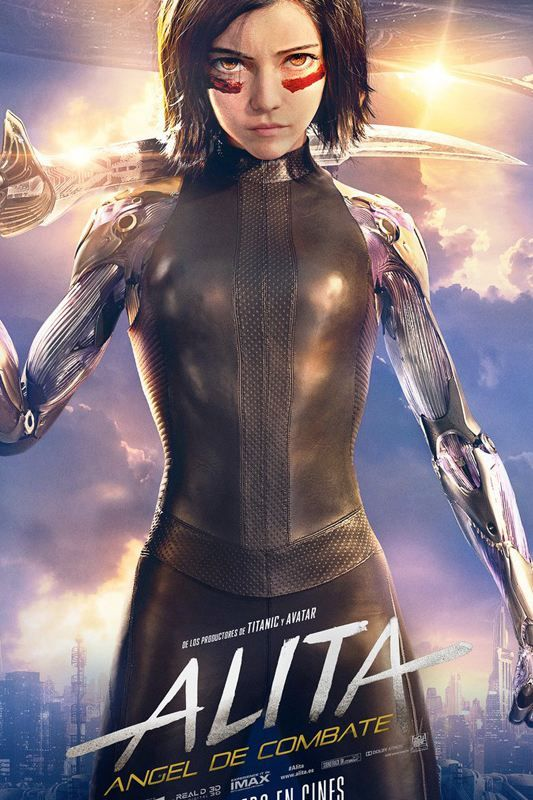 Pelicula 2018 Alita ángel De Combate 2018 Película Completa Online En Español Latino Subtitul Angel Movie Angel Posters Battle Angel Alita