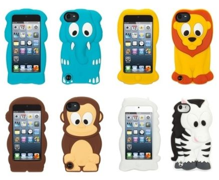 Questi accessori per iPod Touch 5G di Griffin sono realizzati in edizione limitata in modo che le probabilità che i tuoi amici hanno lo stesso sono molto piccole. Vi è anche una applicazione gratuita, Kazoo Keeper, e se si scarica, si trovano sfondi cool e giochi interessanti. Cosa c'è di più divertente che gli animali dello zoo? Scegli la tua preferita: elefante, leone, zebra o forse quella scimmia divertente?