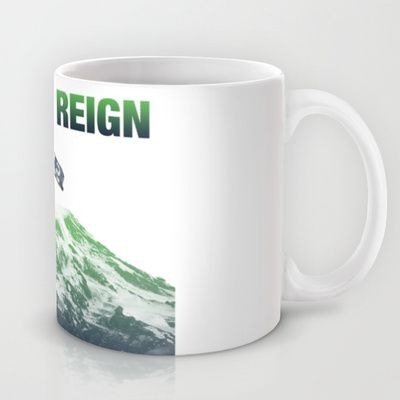 SEATTLE REIGN Mug by Brandon sawyer - $15.00