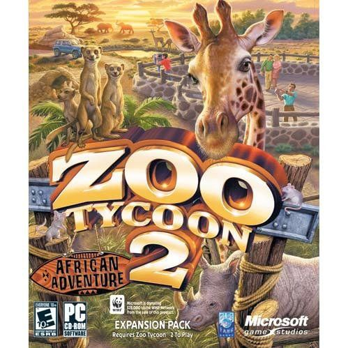 Microsoft Zoo Tycoon 2:  African Adventure Expansion Pack...