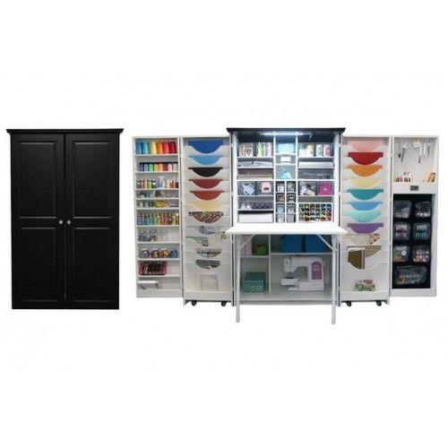 Multi Function Mobile Cabinet Storage Folding Wardrobe Craft Room Storage