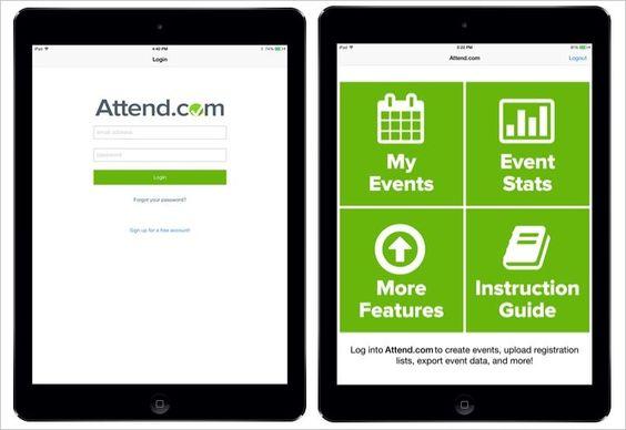Mobile App Eliminates Paper Attendance Lists at Business Events - attendance list