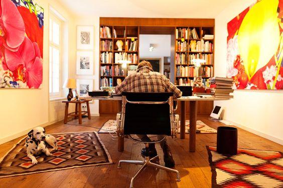 inspiration wolfgang joop at home in potsdam via the selby - einzimmerwohnung einrichten kluges raumspar konzept brasilien