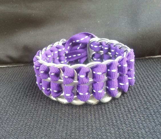 Soda Tab Bracelet by OnceThatNowThis on Etsy, $4.00
