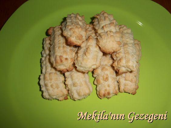 pet şişeden tırtıl kurabiye hazırlama