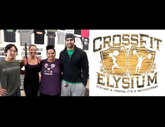 My BOX (Crossfit Elysium), My coaches (Leon, Stacie & Paul), and My inspiration-Irene