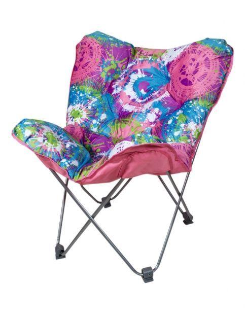 Spin Art Butterfly Chair Girls Room Accessories Room Decor Shop Justice Girls Room Accessories Butterfly Chair Tween Girl Bedroom Decor