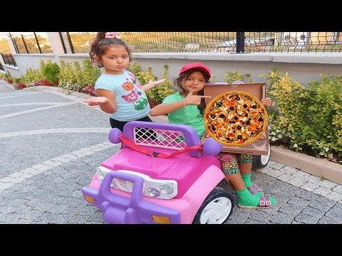 Oyku Nun Pizzasini Kim Yedi Pizza Delivery To Our House From Food Truck Fun Kids Video Youtube House Entertainment Pizza