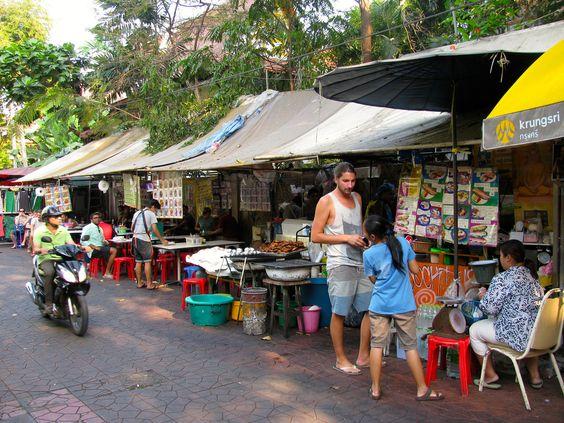 Cocinería callejera
