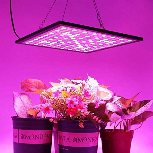 45W LED Plant Grow Light Full Spectrum For Hydro Indoor Flower Plant  Panel Lamp