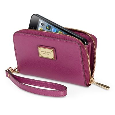 MICHAEL Michael Kors Essential Zip Wallet for iPhone 5 - Apple Store (UK)