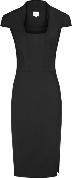 Reiss Tailored Dress- Elegant work dress that can be accessorised in so many ways, a work staple. LM