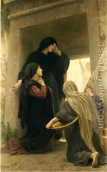 William-Adolphe Bouguereau:Three Marys at the Tomb