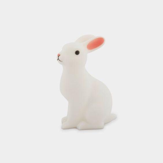 Veilleuse nomade bébé lapin, fonctionne avec une ampoule LED Légère et…