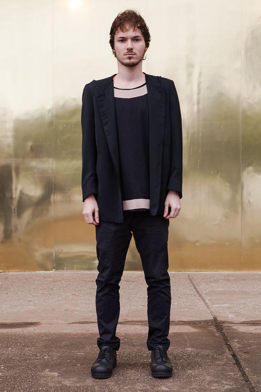 Street style masculino SPFW Verão 2014 Dia 1 - All black