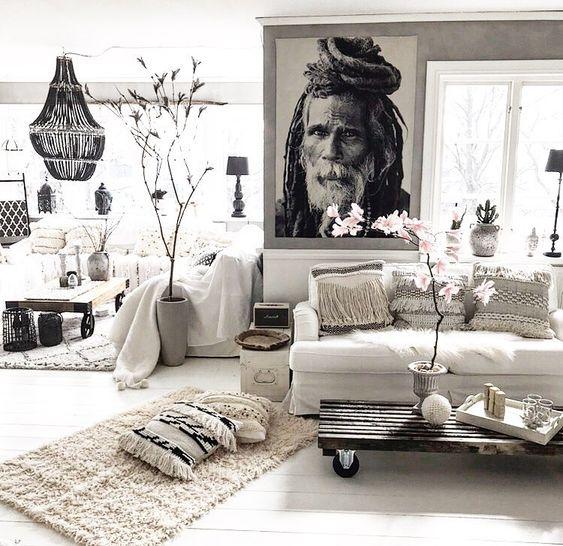 En blanc et noir
