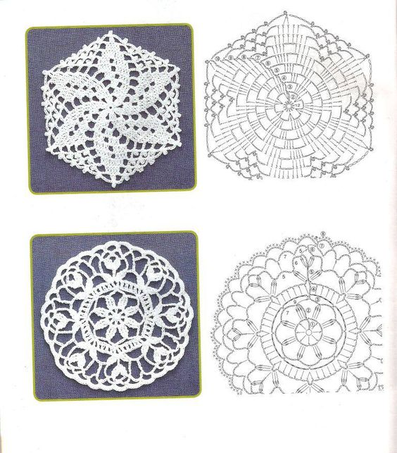 Two beautiful motifs