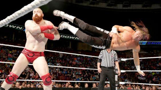 SmackDown 5/19/16: Dolph Ziggler vs. Sheamus