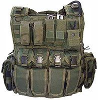 """OD GREEN """"Multi""""Role"""" Combat Armour Carrier can hold soft armour inserts, 2 x large Osprey Ballistic Plates or 10"""" x 12"""" PSD"""