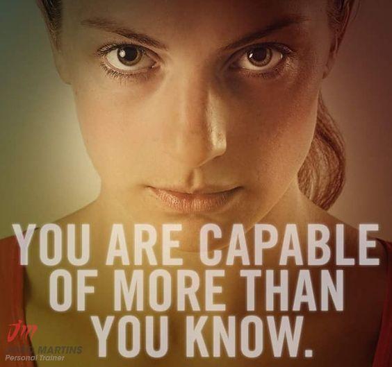 Você consegue mais do que aquilo que você sabe... Sabia?? #joaomartinspersonaltrainer #maisdoquevocesabe #acrediteemsi