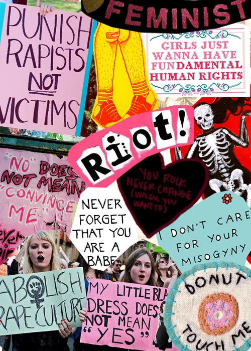Feminism Collage Tumblr   fight feminist sexism girl power feminism sexist collages misogny riot ...