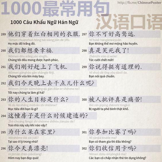 1000 Câu Khẩu Ngữ - Phần 19: