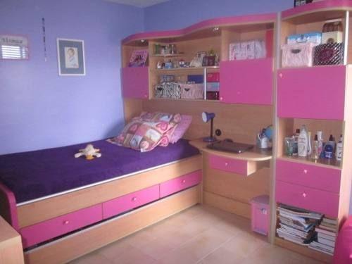 Juego de cuarto para ni a mui lindo pinterest - Muebles para cuarto de nina ...