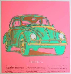 Volkswagen  by アンディ・ウォーホル)